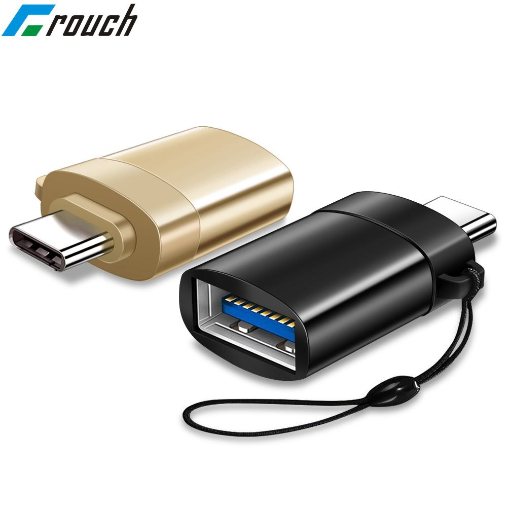 Crouch USB 3.0 Type-c USB C Adapter OTG Cable Type C To Fast Charge Data Converter For Samsung Xiaomi Mi8 Oneplus Huawei Macbook