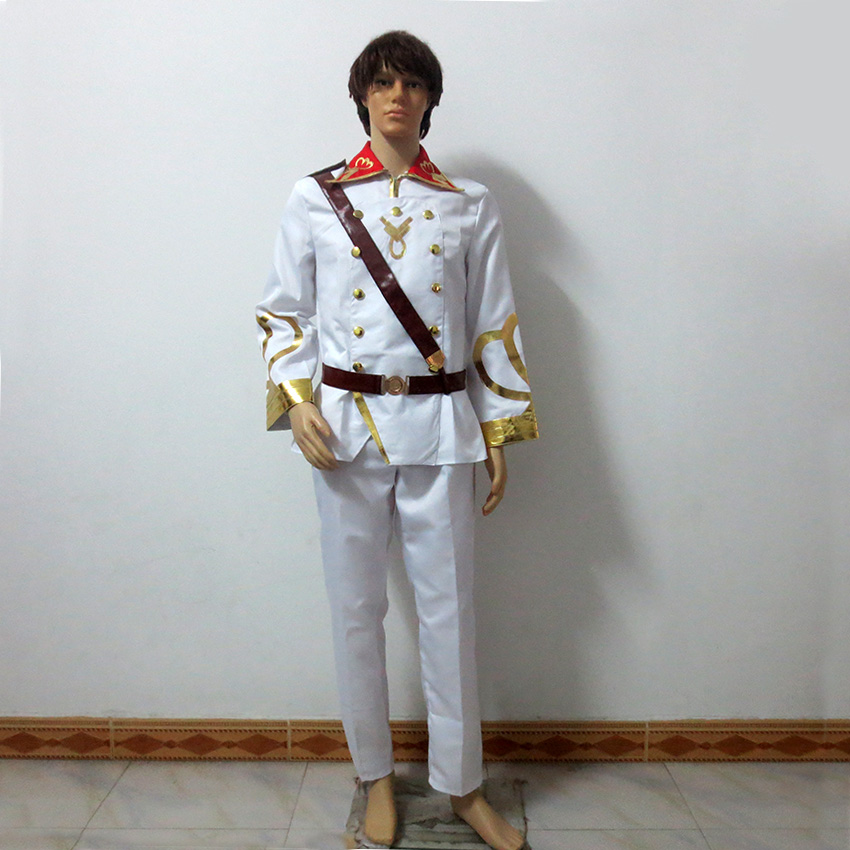 Valvrave the Liberator L-Elf Karlstein Christmas Party Halloween Uniform Outfit Cosplay Costume Customize Any Size