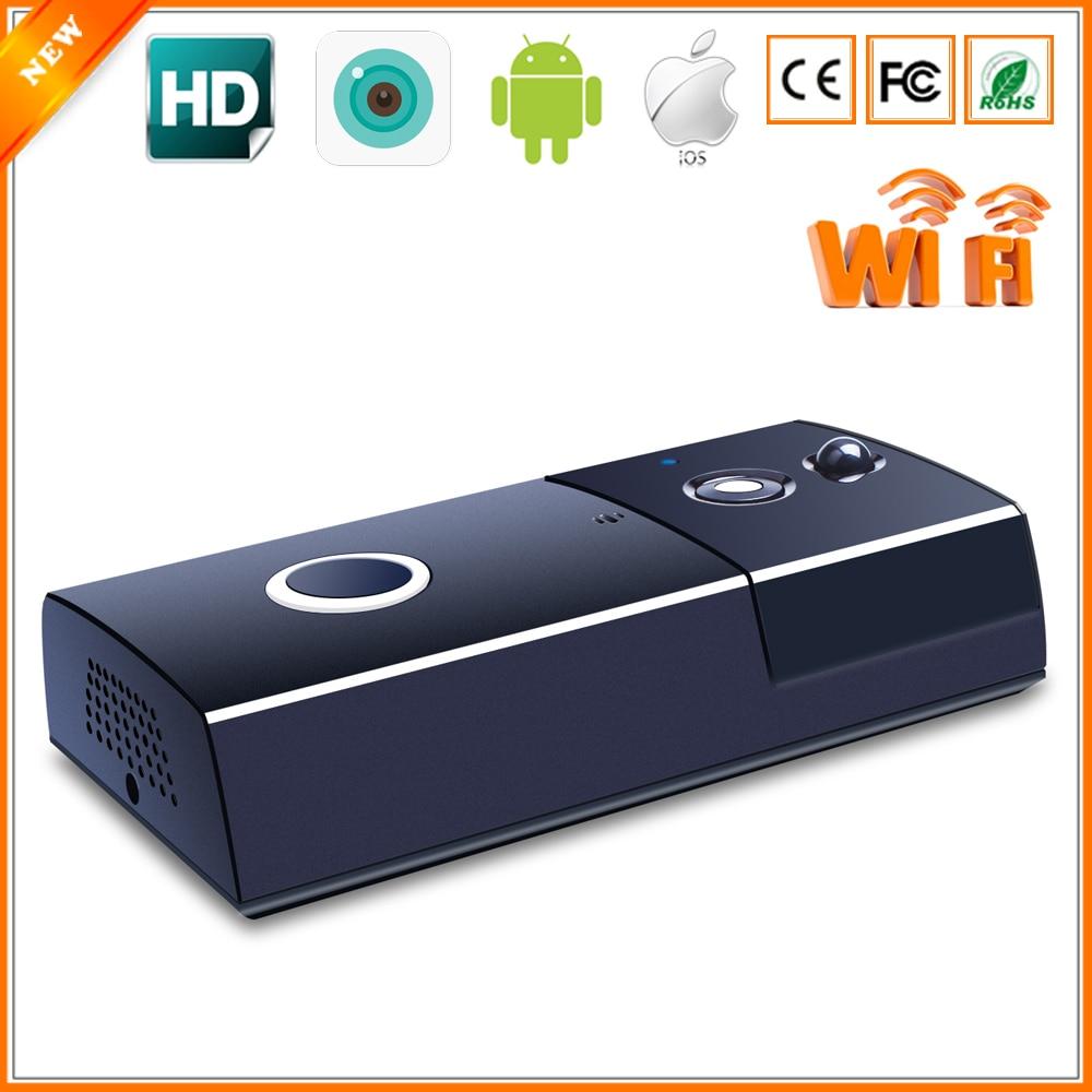 BESDER Home Smart Wireless Video Doorbell Motion Detect PIR Alarm Two Way Audio Battery Power 720P Video Doorbell Intercom WiFi