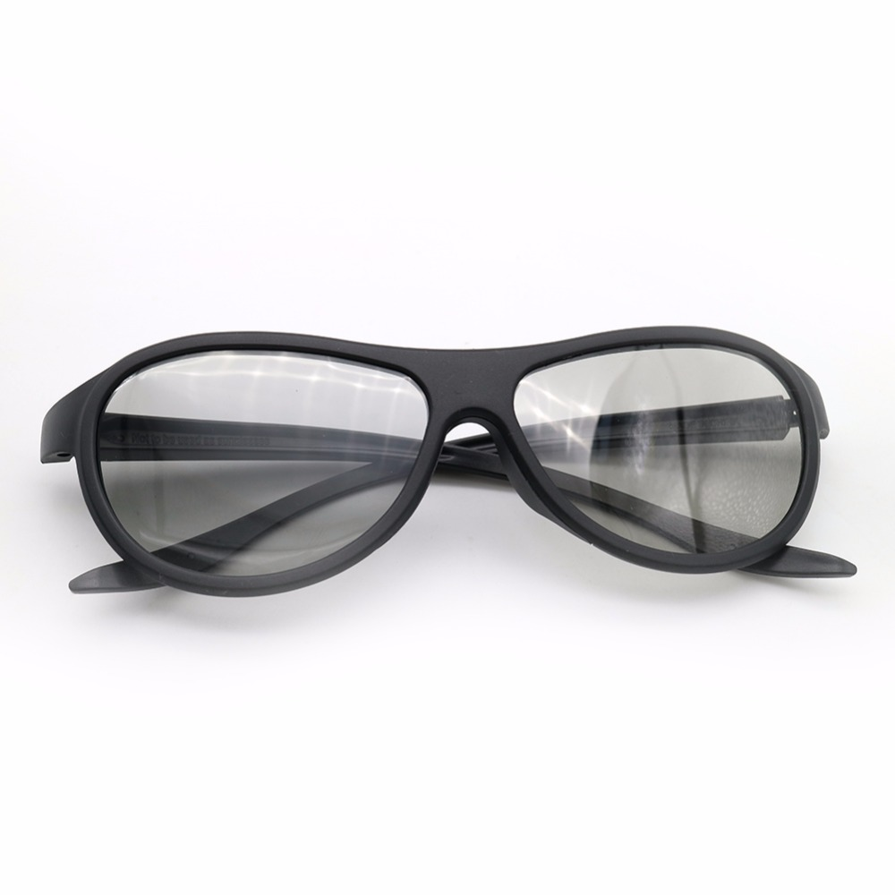 12pcs/lot Replacement AG-F310 3D Glasses Polarized Passive Glasses For LG TCL Samsung SONY Konka reald 3D Cinema TV computer