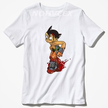 97b7e424c49 new anime pattern Astro Boy Target cotton summer men s t-shirt men s top  tees(