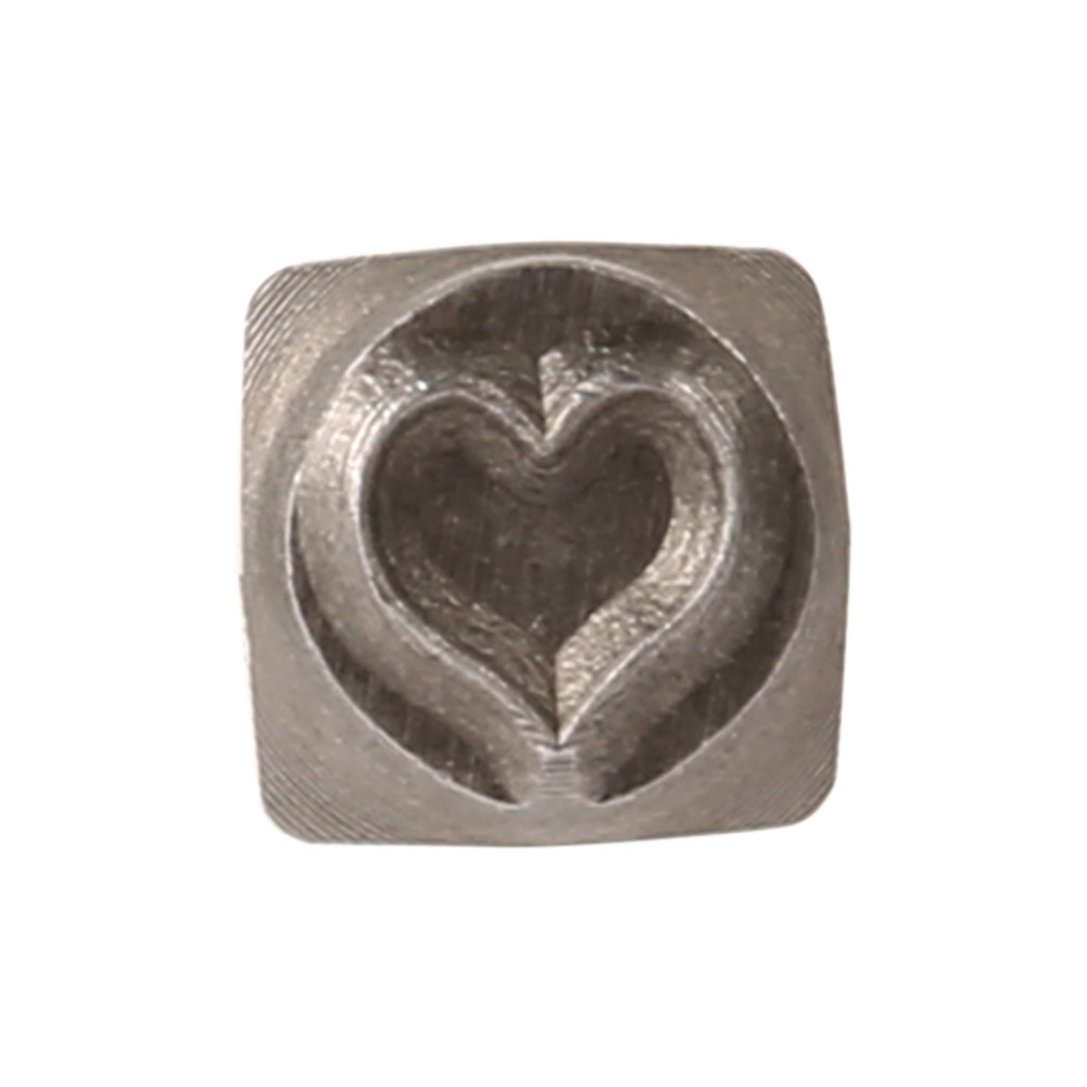 US $3 28 17% OFF|Brand New Whimsy Love Heart 6mm Stamp Metal Hardened Steel  Bars Wholesale-in Stamps from Home & Garden on Aliexpress com | Alibaba