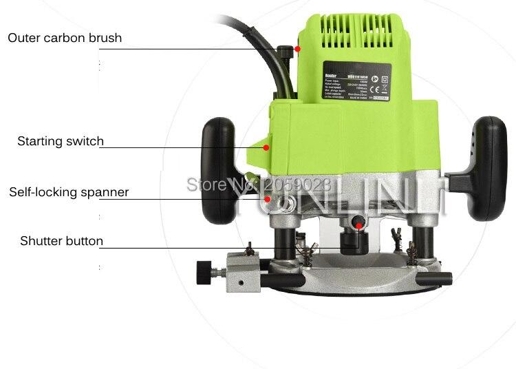 slot máquina de fresagem elétrica multi-use máquina de abertura M1R-KA7-12f