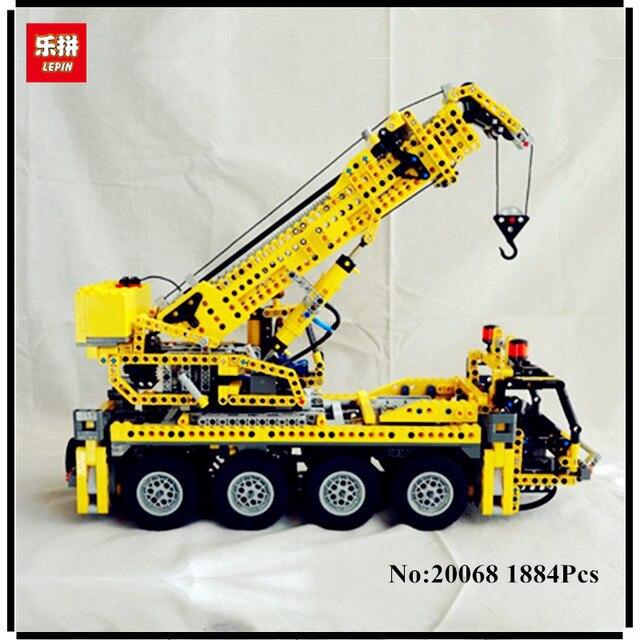 PRESELL LEPIN 20068 1884 pcs Técnica Mecânica Clássica Série Guindaste  Modelo de Brinquedo Blocos de Construção