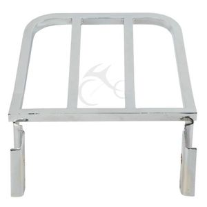 Image 3 - Motorcycle Luggage Rack Rear Carrier For Harley Sportster XL 883 1200 Dyna Fat Boy FXD FXDB FXDL Softail Fatboy