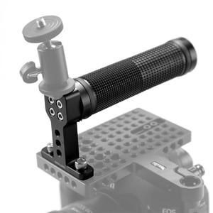 Image 5 - SmallRig empuñadura antideslizante con Base de zapata fría para Monitor de carcasa de camara DSLR, Asa de agarre de cámara estabilizadora 1447