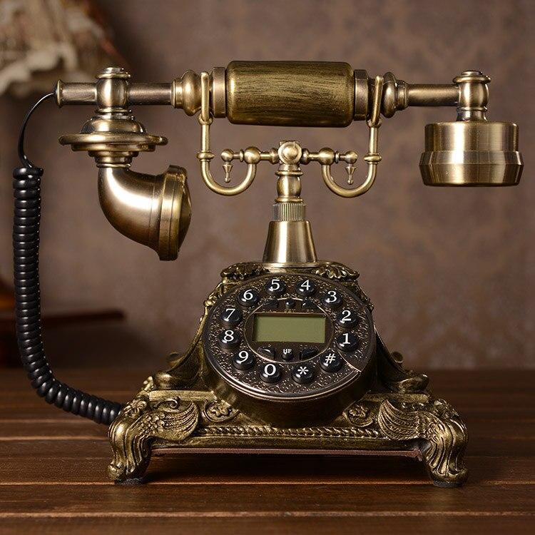تليفون كلاسيكي لتصميم Authentic-fashion-creative-European-pastoral-retro-rotary-phone-antique-telephone-landline-home-office-phone.jpg