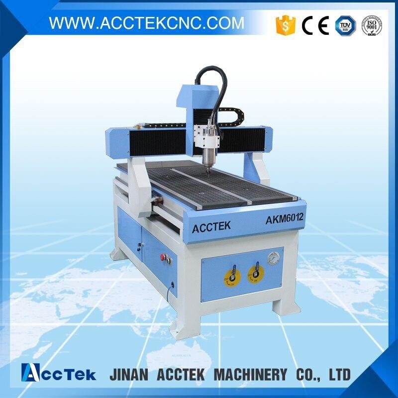 Vitesse rapide t-slot table gravure sur bois CNC de coupe routeur 3 axes 6060 6090 6012 1212 CNC fraiseuse