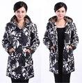 6XL Новый 2017 Верхняя Одежда Женщин пальто Зимнее Пальто Куртки вниз вскользь зимняя куртка женщин большой Размер куртка женская канда R42
