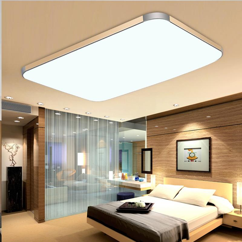 Surface mounted modern led ceiling lights for living room light surface mounted modern led ceiling lights for living room light fixture indoor lighting decorative lampshade 72w 144w in ceiling lights from lights mozeypictures Images