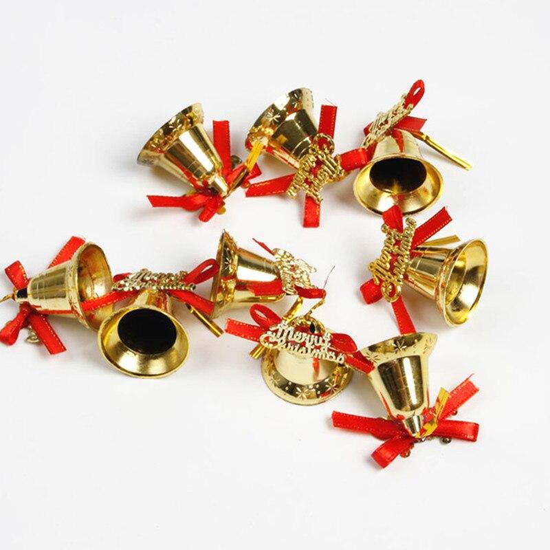 Aliexpress.com : Buy 9pcs Gold Plastic Bell Christmas ...