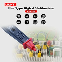 Uni t Ut118B Digital Ammeter Multimeter 3000 Counts Ac/dc Ef Function Pen Type Digital Multimeters Meter Detector tester