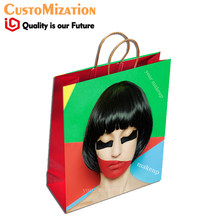 포장 보석 candy 웨딩 famous brand luxury logo printed paper bag 보석 bags 와 logo(China)