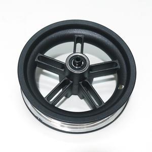 Image 3 - Nuevo Scooter Eléctrico Durable cubo de rueda de acero de aluminio cubo de rueda trasera con eje para Xiaomi M365 accesorios de Scooter eléctrico