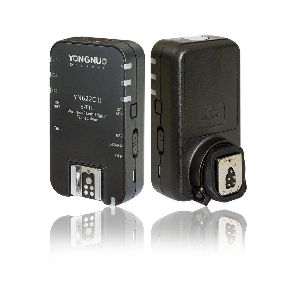 YONGNUO YN622C II YN 622C HSS E-TTL Flash Trigger for Canon Camera Compatible With YN560-TX RF-603 RF-605