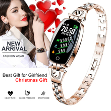 Smart Bracelet Fitness Tracker Bracelet With Heart Rate Monitor Blood Pressure Smart Watch Women Men Wristband For Android IOS
