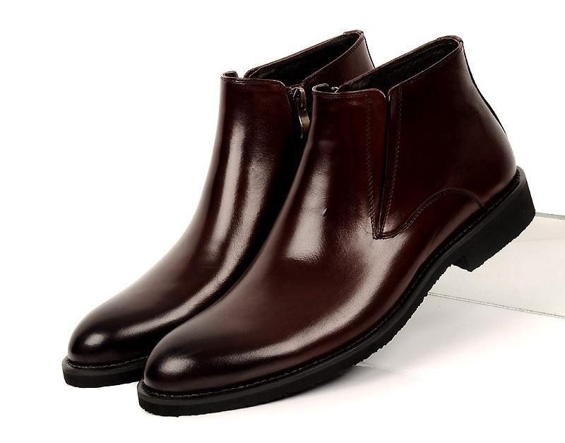 8c990898f Manera-marr-n-tostado-negro-para-hombre-botines-zapatos -de-boda-de-cuero-genuino-zapatos-formales.jpg