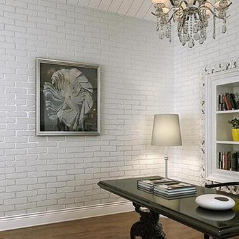 Hot Bán Gạch Nền 3d Phòng Khách Nền Tường Giấy Cổ Điển Gạch Không-dệt Hình Nền Cuộn Papel Bức Tranh Tường Behang w012