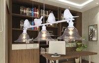 New Modern Pendant Lights E14 Led Lamps For Dining Room Pendant Light Resin Sculpture Of The