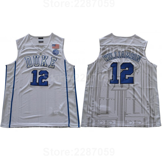 26a38ad2b ... new zealand ediwallen university 12 zion williamson jersey men  basketball duke blue devils college jerseys team