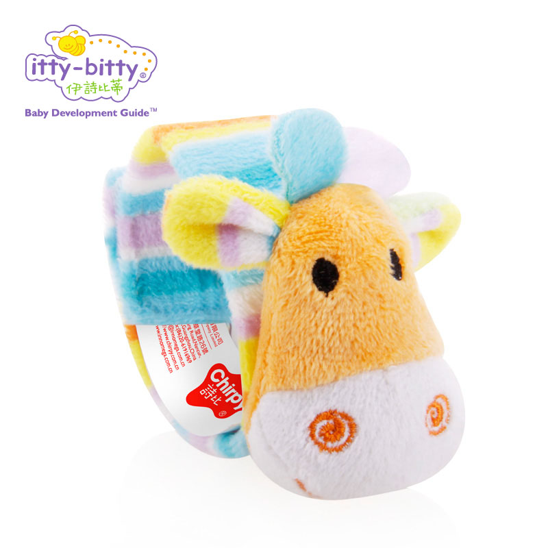 Baby Rattles Mobiles Plush Cute 16 cm Soft Animal Watch Cute Sweet Baby babe Infant Wrist Rattle Educational Soft Toy for Baby mini baby elephant plush toy sounding musical rattle baby toy soft educational plush toy