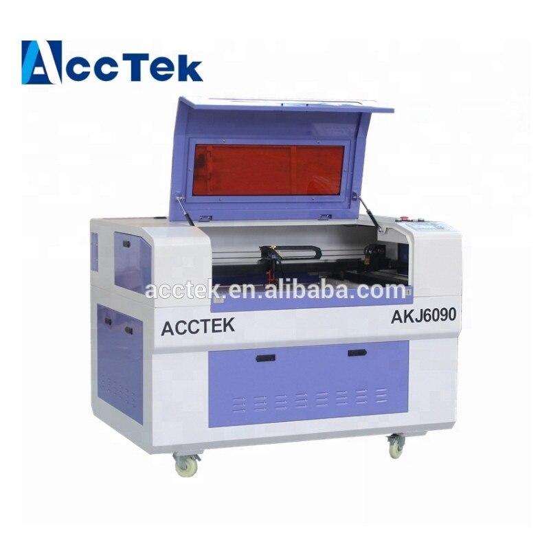 Hot sale 100W Reci laser tube 6090 6040 mini laser engraving machine with CE, FDA certification