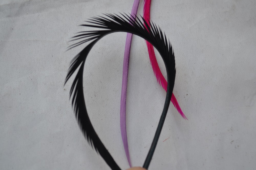 Free Shipping Goose Featherstripped Goose Feather Diy Feather Hair