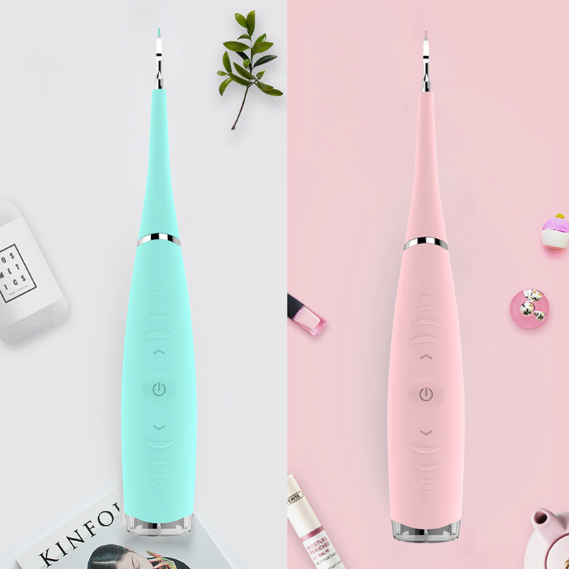 1pcs Portable Electric Sonic Dental Scaler Tooth Calculus Remover Tooth Stains Tartar Tool Toothwash Dentist for Beauty Teeth