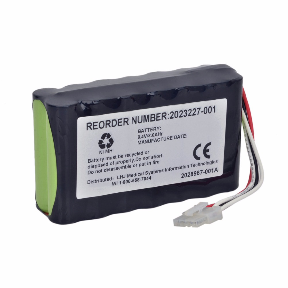 8000mAH New OTDR Battery for GE DASH2500 DASH 2500 DASH 1800 DASH1800 N1082 2023852-029 N1082 AMED2250 1800 2023227-001 2700mah new otdr battery for anritsu mt9090a 909815b 14b g0202a pt01496 1426
