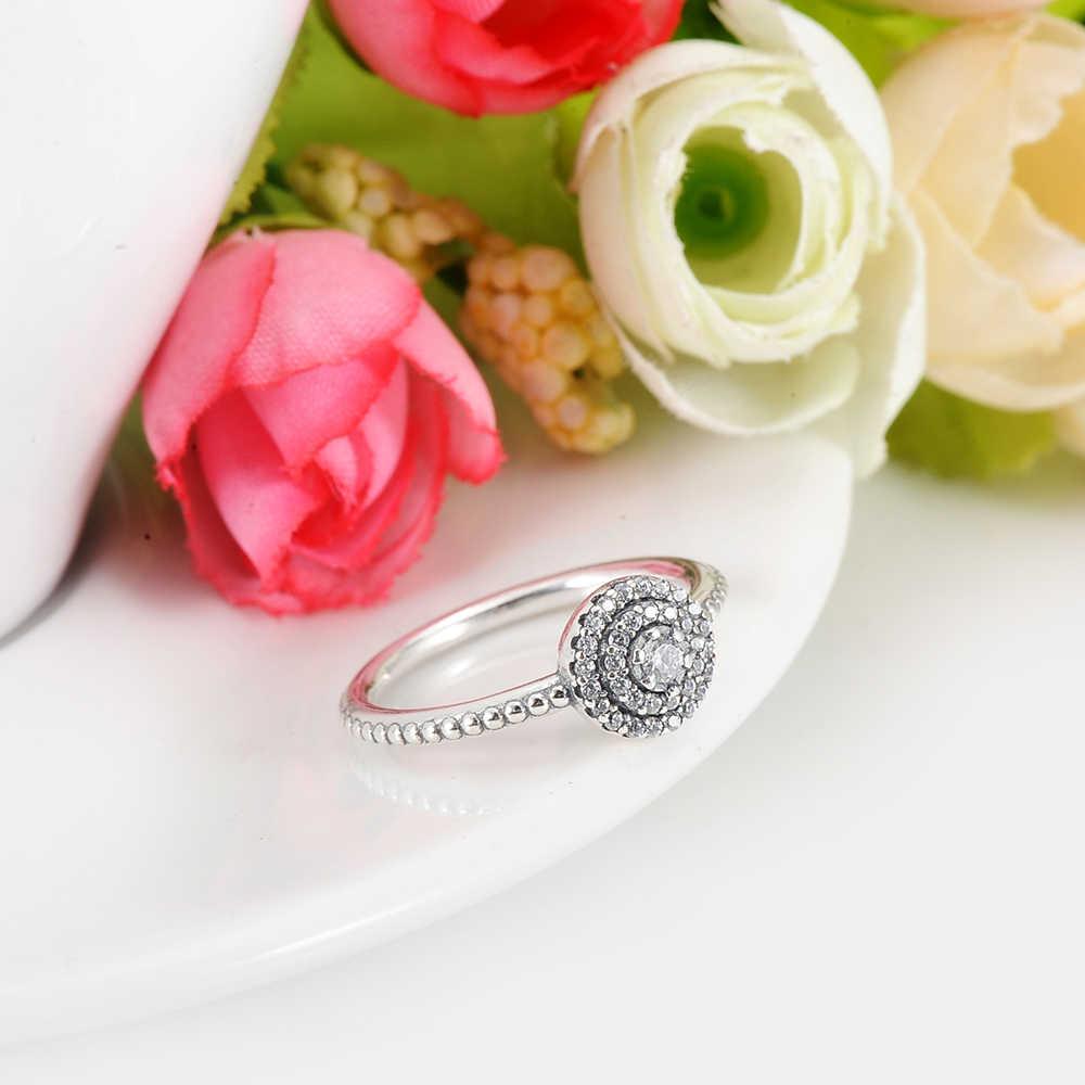 LZESHINE 100% แท้โบราณ 925 แหวนเงินสเตอร์ลิง AAA Zirconia แหวนผู้หญิง Aliexpress Hot ขาย PSRI06-B