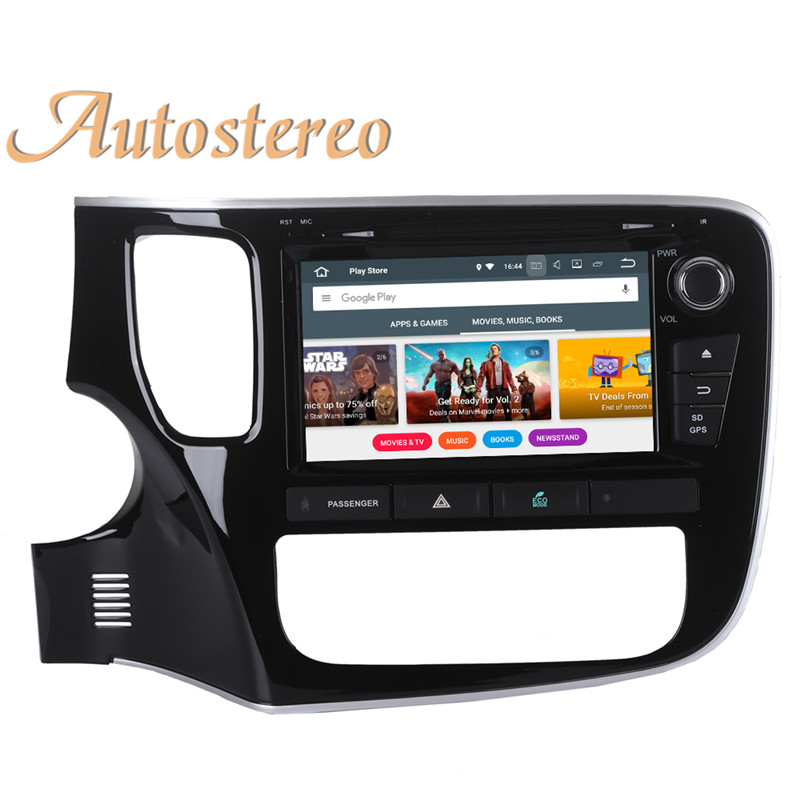 Best Android 9 Car GPS navigation Car DVD player For Mitsubishi OUTLANDER 2014 2015 2016 2017 multimedia radio tape recorder headunit 22