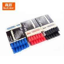 TureColor 12pcs/lot Red Black Blue High Quality Erasable Whiteboard Marker Pen School Office Stationery for Teachers and Workers