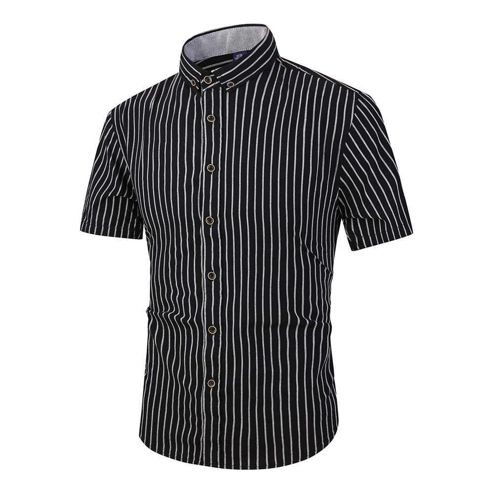 DAVYDAISY высокое качество 2019 Новая Летняя мужская рубашка 100% хлопок футболка с коротким рукавом Японии Стиль Рубашки повседневные рубашки бренд DS324