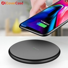 For Samsung Galaxy S10 Wireless Charger Qi Fast Charging Pad Case For Samsung Galaxy S10e S10 Plus S10+ S10 5G Phone Accessory cheap 5V 1A RoHS icovercase APPLE Xiaomi Huawei Sony A C Source 9V 1 67A For Samsung Note 9 8 5 Wireless Charging Qi Wireless Charger