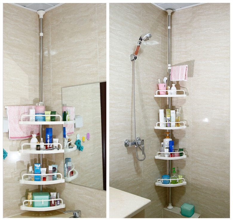 Charmant Bathroom Shelf Corner Shelf Stainless Steel Tripod Floor Storage Rack In Bathroom  Shelves From Home Improvement On Aliexpress.com | Alibaba Group