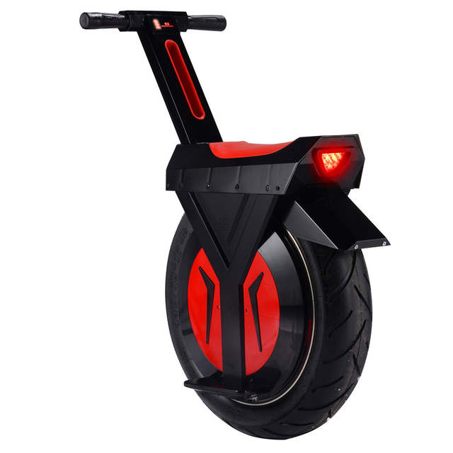Electric Sit Down Scooter >> Us 2051 2 Sit Down Funny One Wheel Electric Scooter Self Balancing 60v 17 Inch Scooter Unicycle Balance Board For Adult In Self Balance Scooters