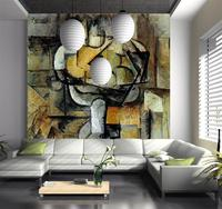 3D Wallpaper Custom Mural Photo Wall Paper Famous Painting Abstract Oil Painting TV Sofa Bedroom KTV