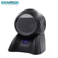 2D High Sensitive Omnidirectional Barcode Scanner Reader Flatbed Bar code Scanner PDF417 Data Matrix Scanner SM 6600