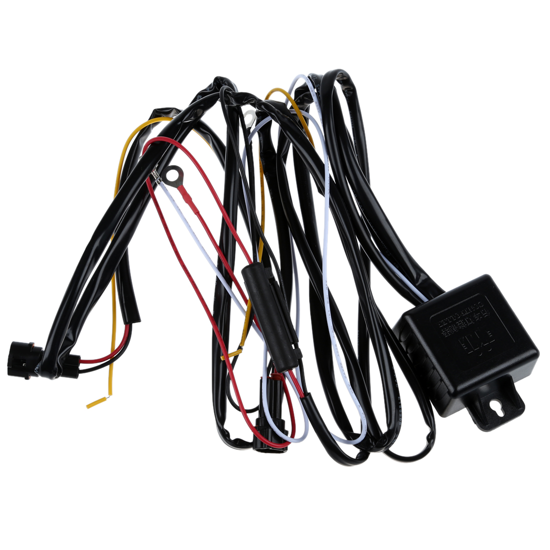 DRL Daytime Running Light Relay Harness Auto Car Control On/Off Switch 12V
