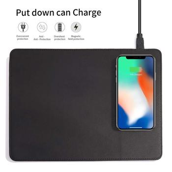 Mobile Phone Qi Wireless Charger Charging Mouse Pad Mat For IPhone X /8 8Plus For Samsung S8 Plus /S7 S6 Edge Note 8 Note 5