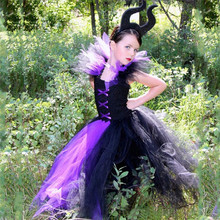 Queen Girl Tutu Dress Children Christmas Cosplay Costume Halloween Dresses Kids Girl Party Photography Clothes Fancy Dress
