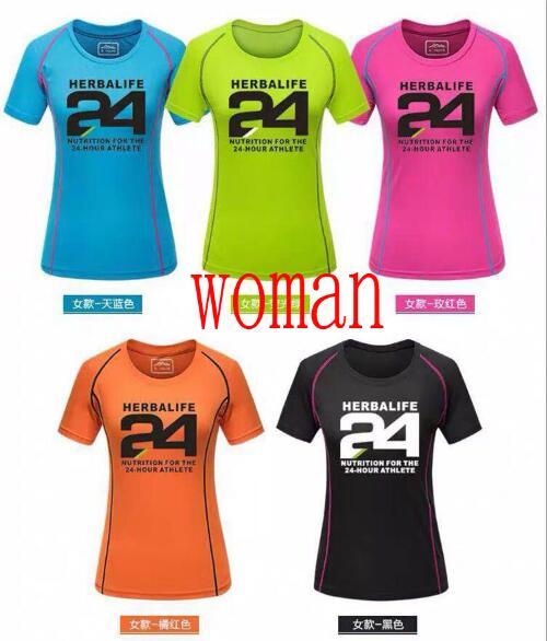 Jerseys T-Shirt Moto Mountain-Bike Herbalife Woman NEW Dh Mtb GP