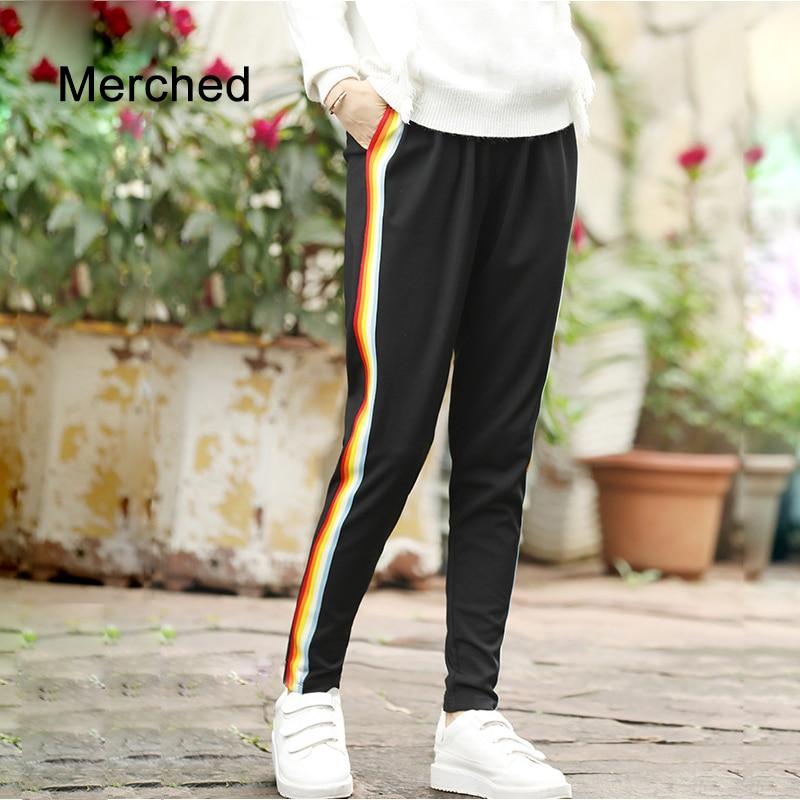 Merched Store Merched Casual Loose Elastic Waist Long Pants Women Multi Striped Patchwork Harem Pants Fashion Trousers 4XL 5XL Plus Size