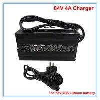 360 W 72 V 4A Ladegerät Ausgang 84 V 4A li ion ladegerät RCA Port Verwendet für 72 V 20 S elektrische fahrrad batterie e roller batterie ladegerät|battery charger|li-ion chargerbatteries battery charger -