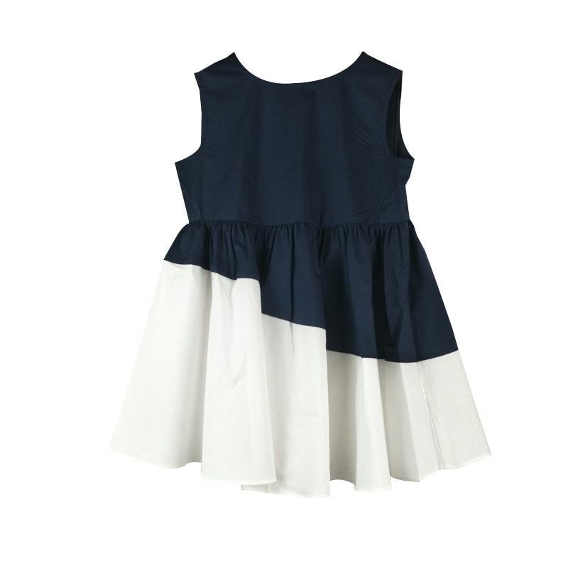 Teenage Girls Sundress for Kids Sleeveless Dresses Summer Vestido Infantil  4 10 12 14 Years Big Size Girls Patchwork Dresses Bow-in Dresses from Mother  ... 0625c541deba