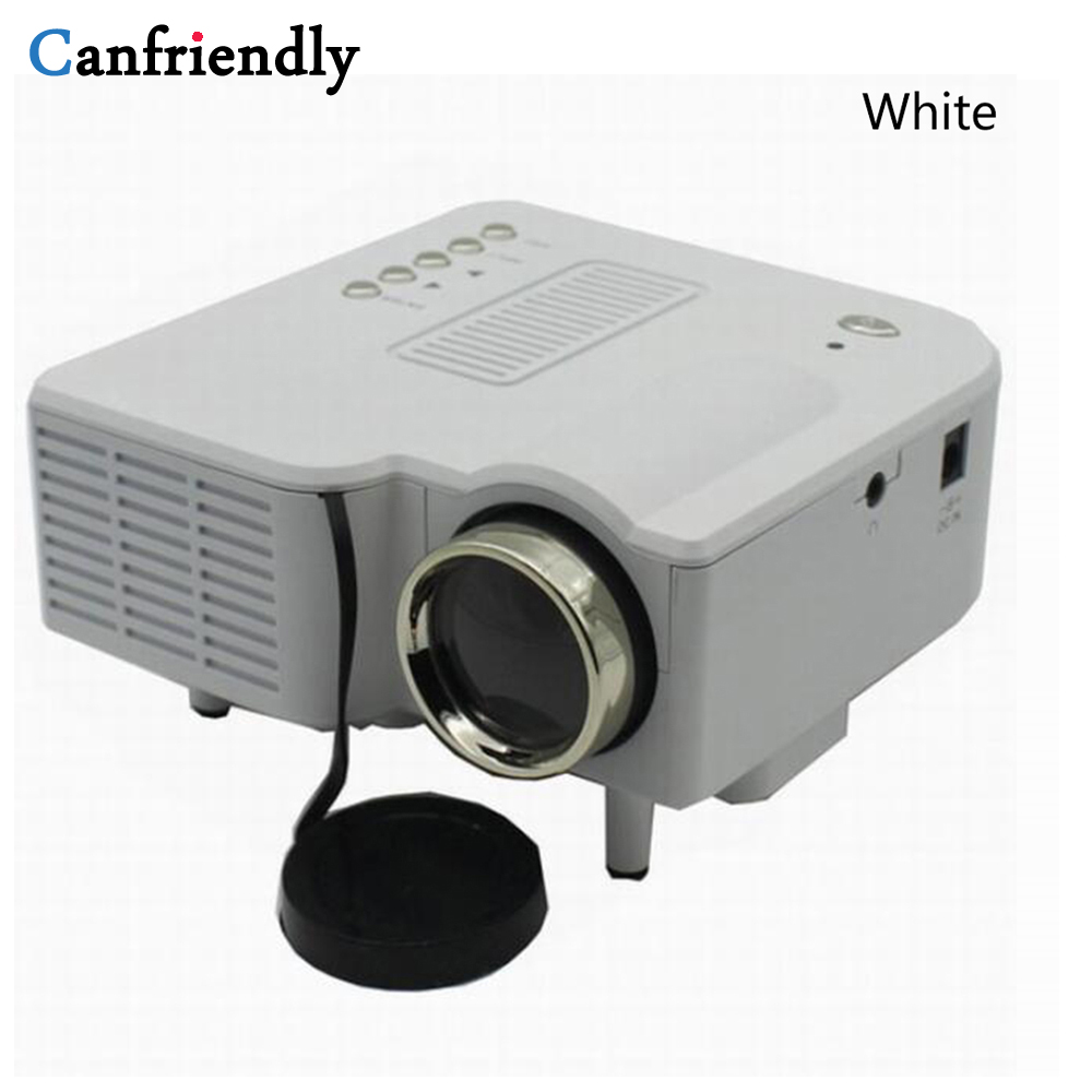 UC28 Mini Pico remote Projector Home Cinema Theater Digital LED LCD Projector VGA/USB/SD/AV/HDMI Multimedia Projector 1080P