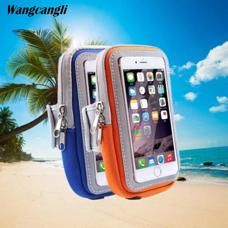 Devoted Running Mobile Phone Bag Walking Arm Set Waterproof Arm Bag Men And Women Fitness Universal Sports Bracelet Bag For Iphone 7 Mobile Phone Accessories Armbands