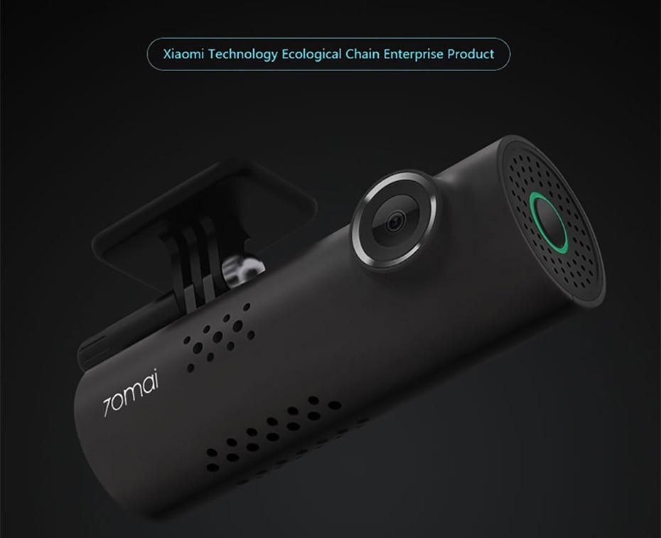 English Version Xiaomi 70 Mai Car Dash Smart WiFi DVR Driving Recorder 130degree Wireless Cam 1080P FHD Nightshot IMAX323 Sensor-11