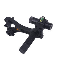 Red Light Compound Archery Bow Laser Sight Center Laser Aligner with 360 Degree Rotating Head and Body for Hunting