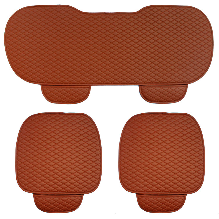 Image 4 - 3 pcs car seat cushion car fashion car seat cover Car Styling Auto accessories PU leather manufacturing-in Automobiles Seat Covers from Automobiles & Motorcycles